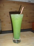 Green Mamba in Longdrinkglas