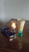Blue Curacao zu erst ins Glas geile Optik