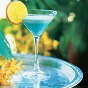 Blue Curacao - Pfirsich