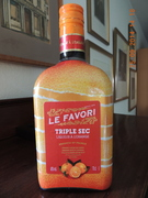 Le Favori Triple Sec, Liqueur à l'Orange, 40% Vol.
