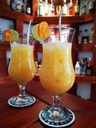 Ouzo - Cocktail, wie beschrieben.